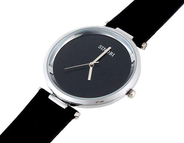 Dámské hodinky Sinobi Round černé d100f70d63