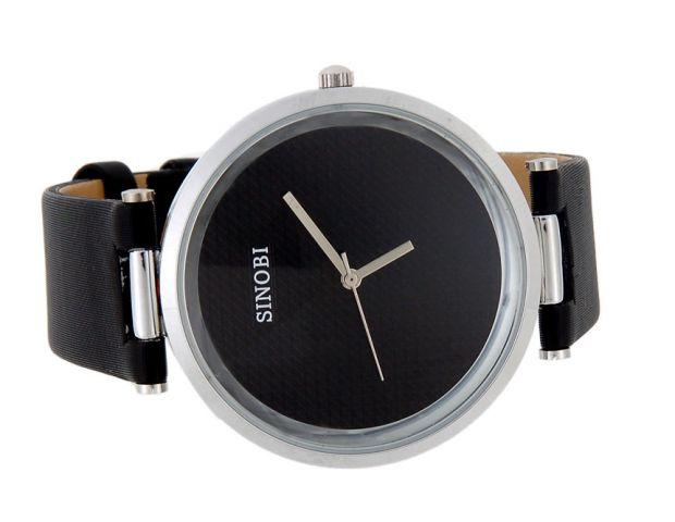 Dámské hodinky Sinobi Round černé fde064675a