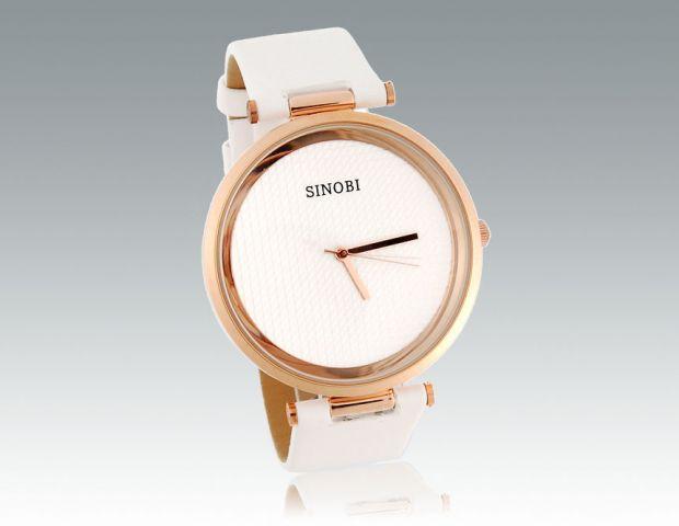 Dámské hodinky Sinobi Round bílé d13fbbb43e